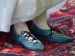 Regency Dance Slippers by Goldenspring