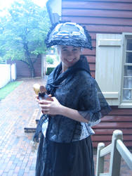 1772 Silk Covered Hat by Goldenspring