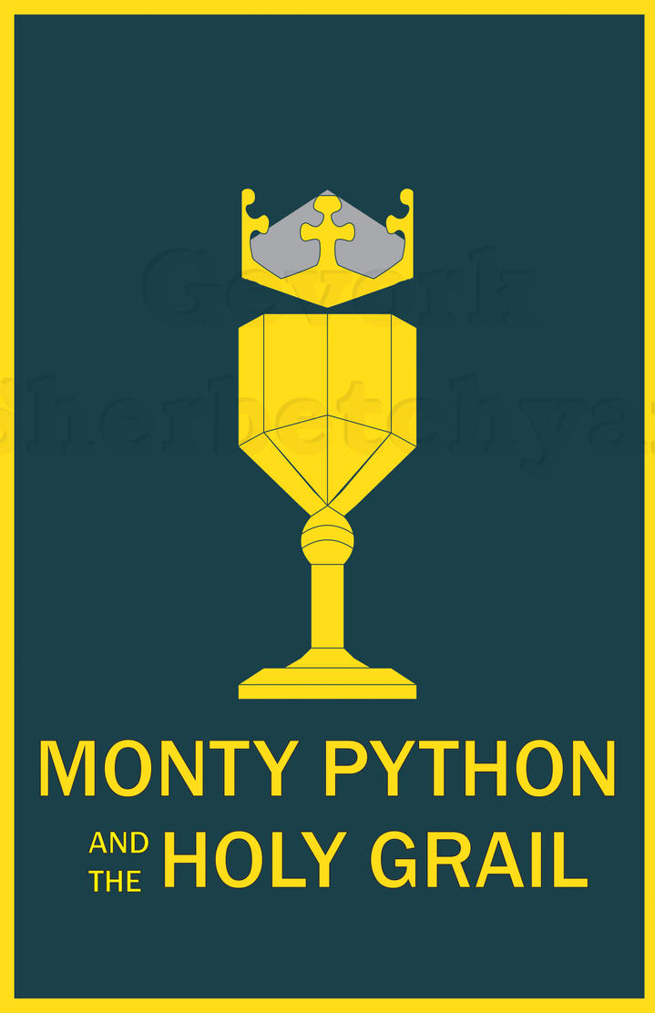 """an analysis of monty python and the holy grail But pound-for-pound i'm making the case for what tim the enchanter refers to as """"the most holy grail"""" monty python and the holy grail,."""