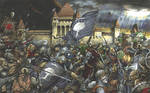 Battle of Minas Tirith by Meleager
