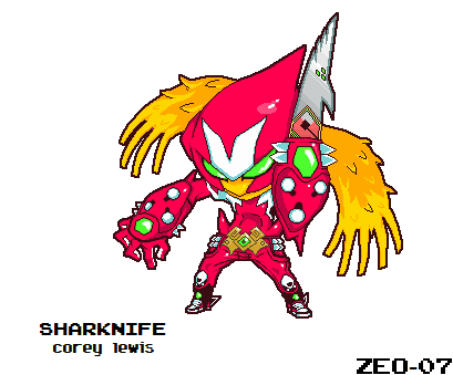 Sharknife SD by PixelZeo