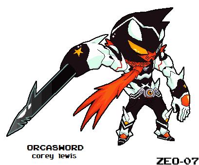 Orcasword by PixelZeo