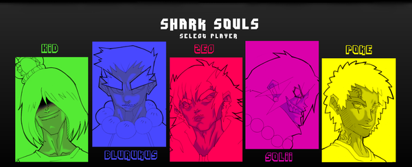 Sharks Souls Crew by PixelZeo