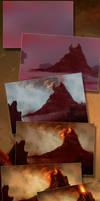 Volcanic Landscape Process