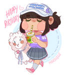 One of the purest child, happy b-day !!