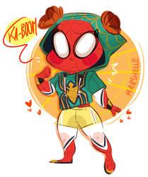 Your Lovely Neighborhood Spider-Tam !! by Marshellle