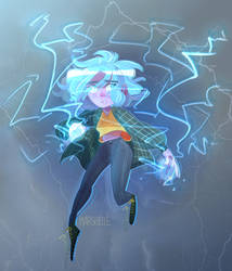 An electric feeling by Marshellle