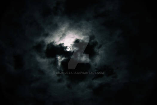 Night Clouds with Full Moon
