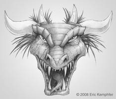 Dragon Head by EricKemphfer