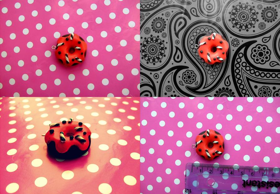 Gothic donut - pendant by NimfVirTi