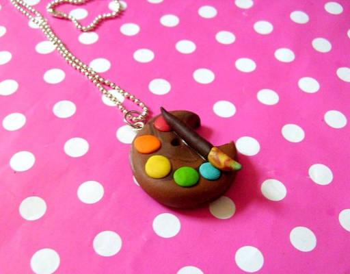 Artists palette - necklace
