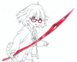 Kuriyama Mirai (Rouge sang)