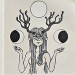 Sketchbook ~ Selenomancie