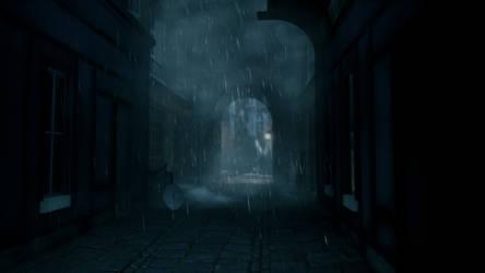 Bioshock Infinite - Dark alley