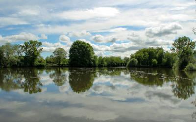 Lake mirror by NDC880117
