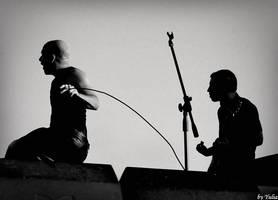 music geometry or Shadow play by fotoinsan