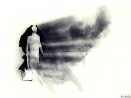 ctrl+I or Rorschach inkblot by fotoinsan