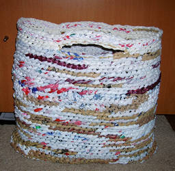 Recycled Grocery Bag Tote by DigitalParanoia