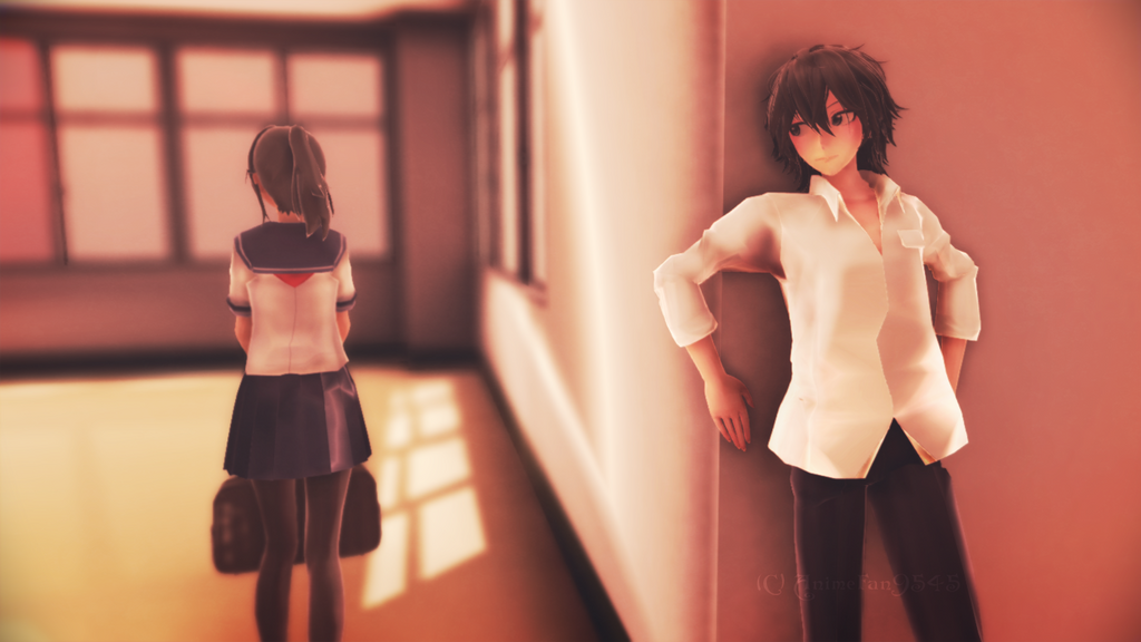 Yandere Kun Stalks Senpai Chan 2 by animefan9545 by Shiranai-Atsune
