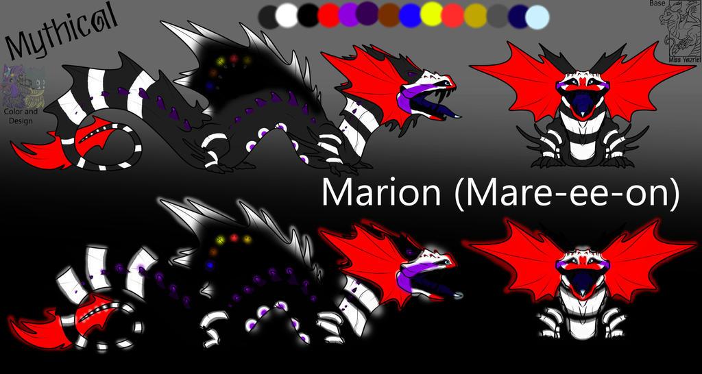 Marion Full Ref by MurderInkLastResort