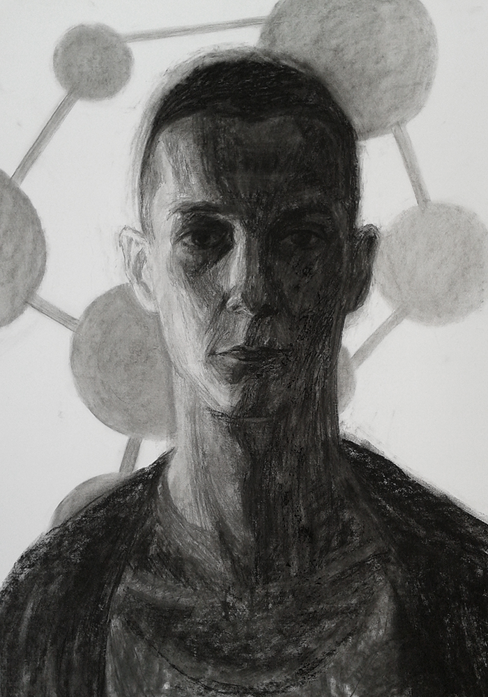 my first molecular portrait by valaisis
