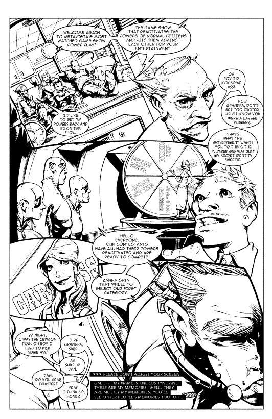Prodigal page 1 by codazen