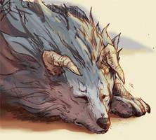 Monster Rancher - Tiger by Seylyn