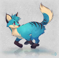 Lil' Blue - Adopted by Seylyn