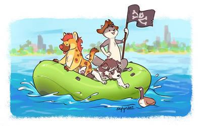 Going Rafting!