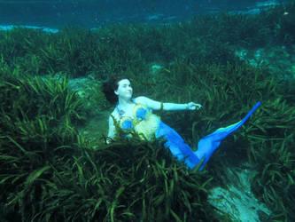 Mermaid Celeste- A Short Nap by deliriumdreamer3
