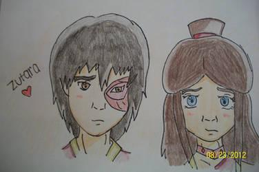 Avatar the Last Airbender: Zutara (Zuko x Katara)~ by asamreen78