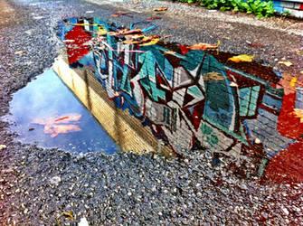 Reflections by PerthGraffScene