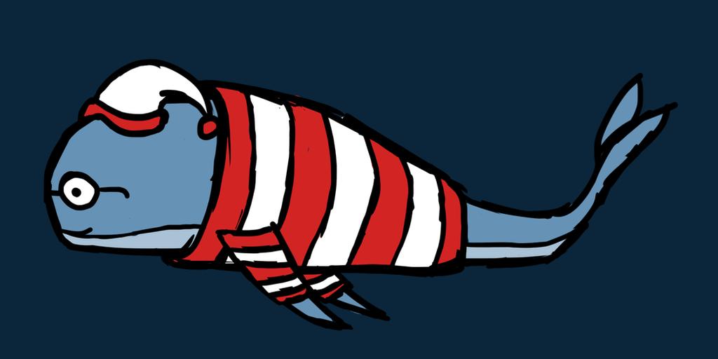 Where's Whale-do? by elf-mermaid