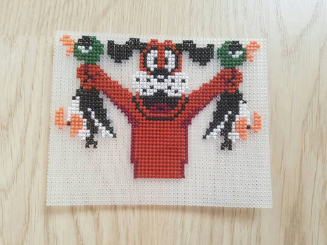 Duck Hunt Dog Cross Stitch