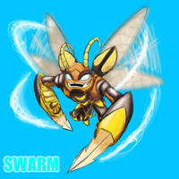 Skylanders Giants - Swarm by DrakorDragon