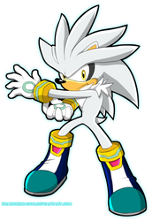 Silver the Hedgehog by DrakorDragon