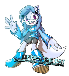 Linnea the Cat (New OC) by DrakorDragon