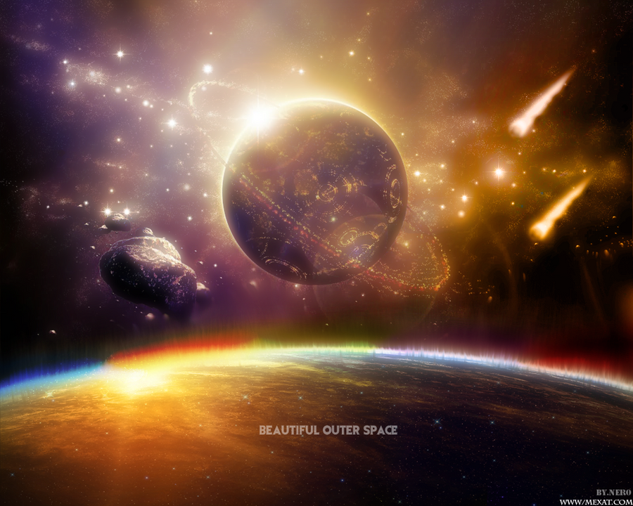 Beautiful Outer Space by NeRrOo on DeviantArt