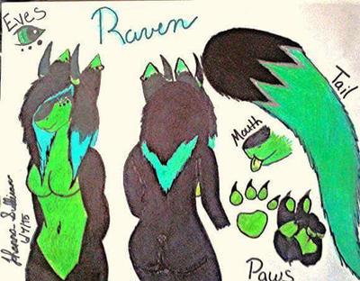 Raven  Zerxies by DeliriousJackalArmy
