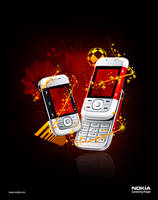 nokia 5300 - expirement art by harisson