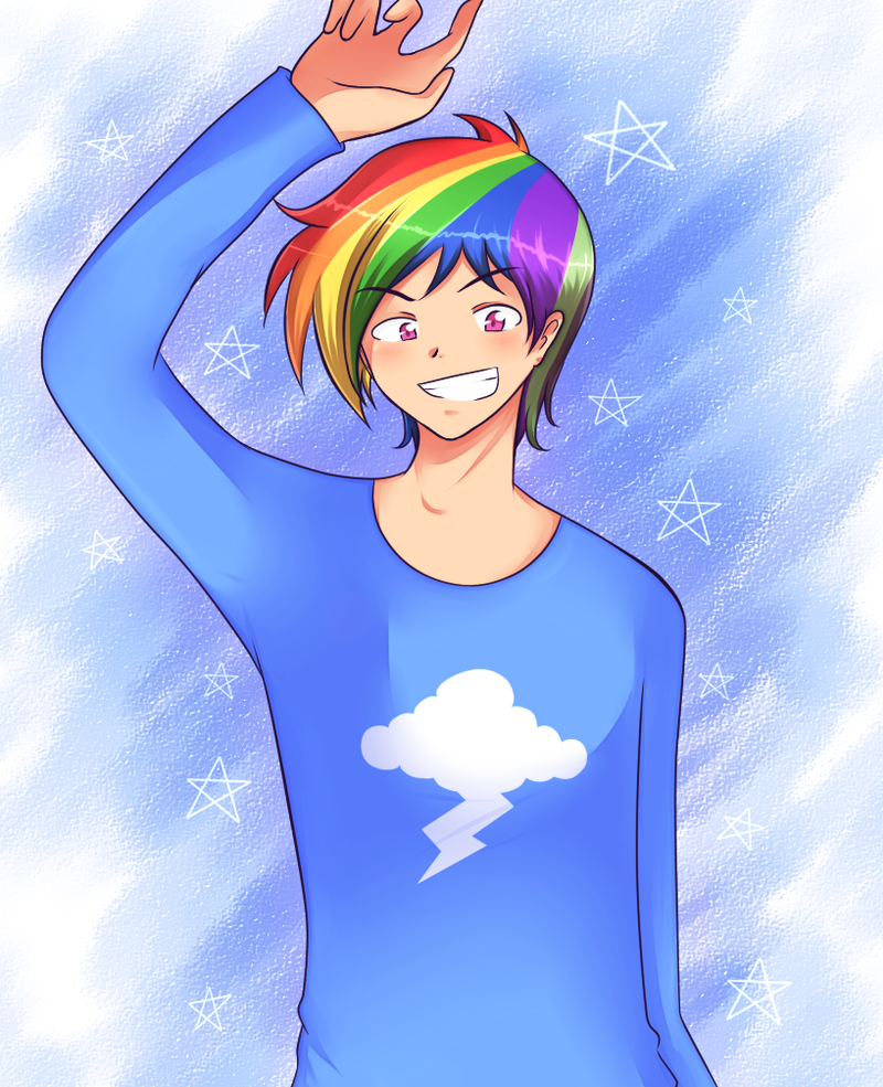 Rainbow Boy - Hello! by superalvichan