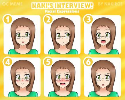 OC Meme - Naki's Interview: Amai Shirato