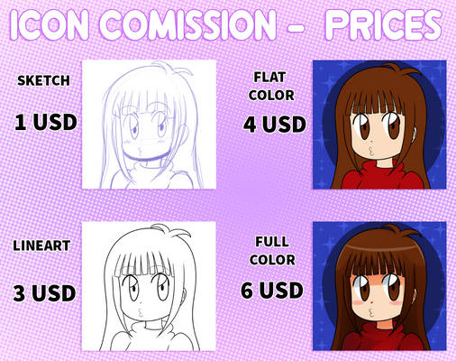 Icon Comission - Prices [OPEN]