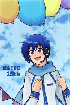 Kaito 15 Aniversary