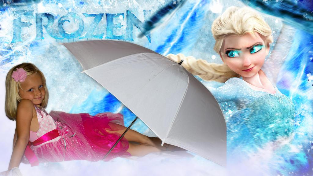 Madelynn Frozen Wallpaper by Dbphotographyandart