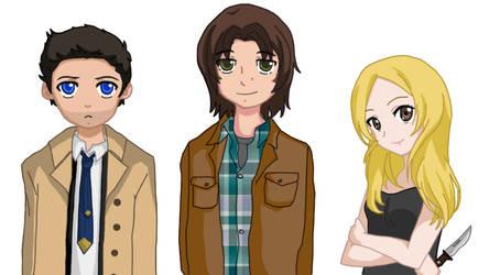 Supernatural Visual Novel Designs