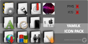 WIP Yamilk Icon Pack - Update by Gurato