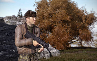 Magpul PDR in-game Arma 2 by Tom3dJay