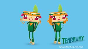 ATOI from TEARAWAY Fan art