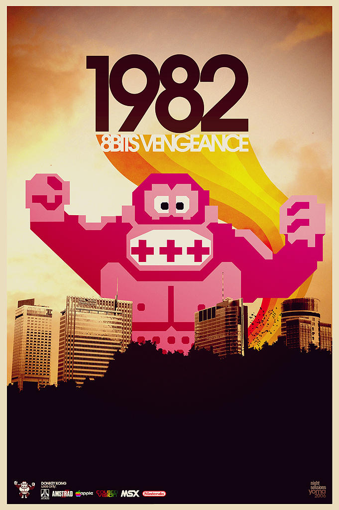 1982 - 8BITS vengeance by yoma82